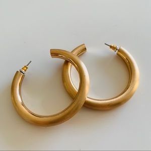 Jewelry - Golden Hoop Earrings